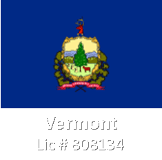 vermont 808134 - Our Current State Licenses